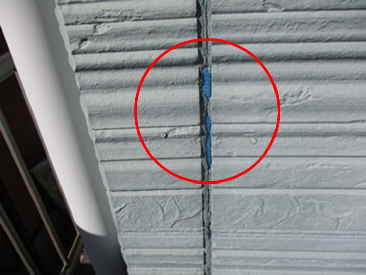 シーリング材のひび割れの例1